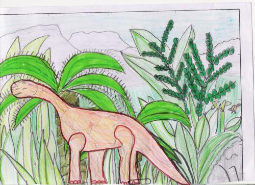 dinosaurio en paisaje verdeeeeeeeeeeeeeeeeeeeeeeeeeeeeeeeeeeeeee1