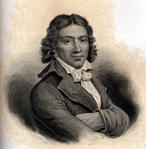 Camile Desmoulins (1760-1794, revolucionario y periodista francés)
