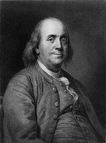 Benjamin Franklin (1706-1790) Estadista y científico estadounidense