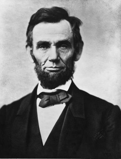 Abraham Lincoln (1808-1865) Político estadounidense.